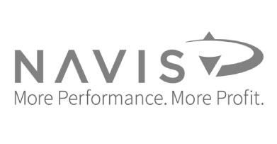 Logo that reads 'NAVIS More Performance More Profit'