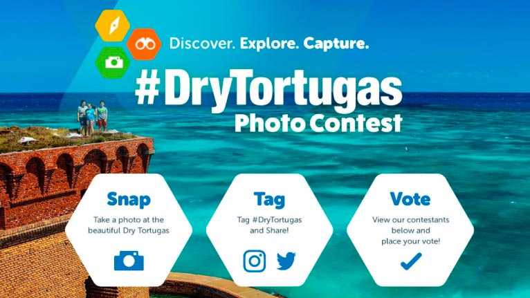 Dry Tortugas Photo Contest Graphic