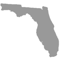 Florida in gray