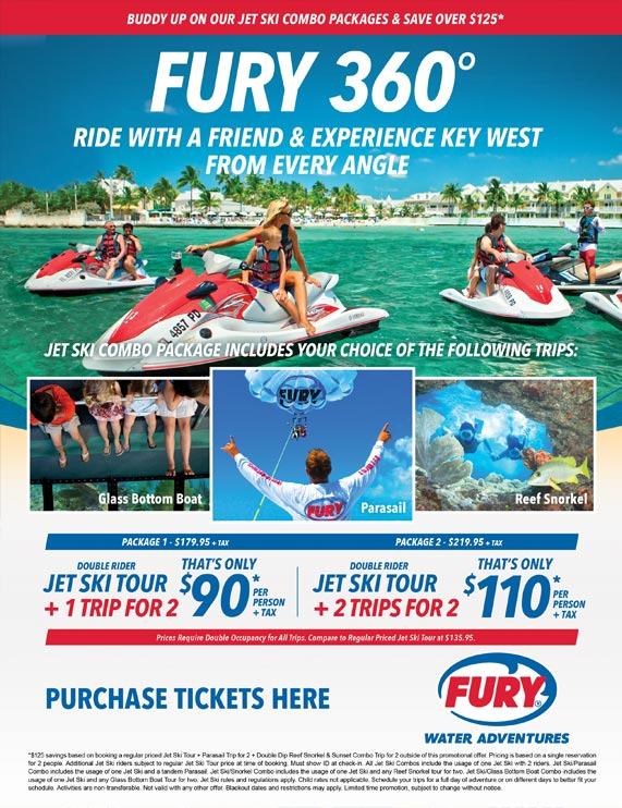 Fury Key West Jet Ski flyer