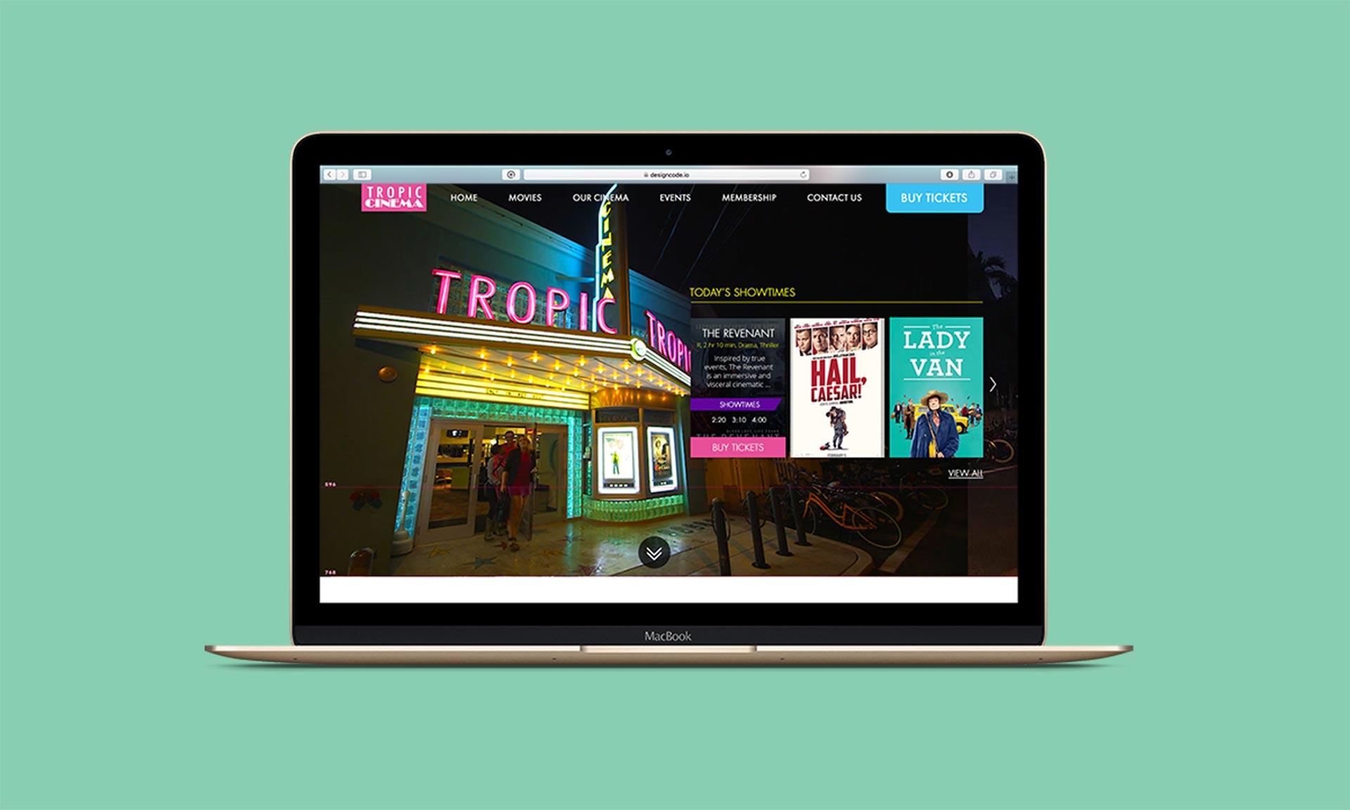 Tropical Cinema Laptop
