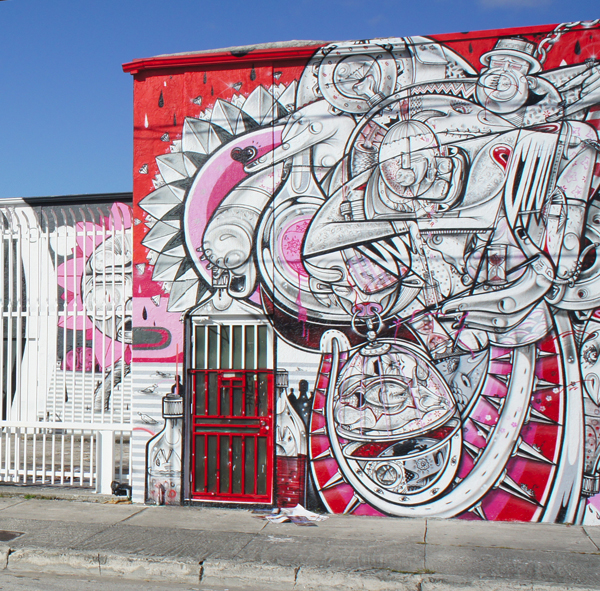 Graffiti Art in Wynwood