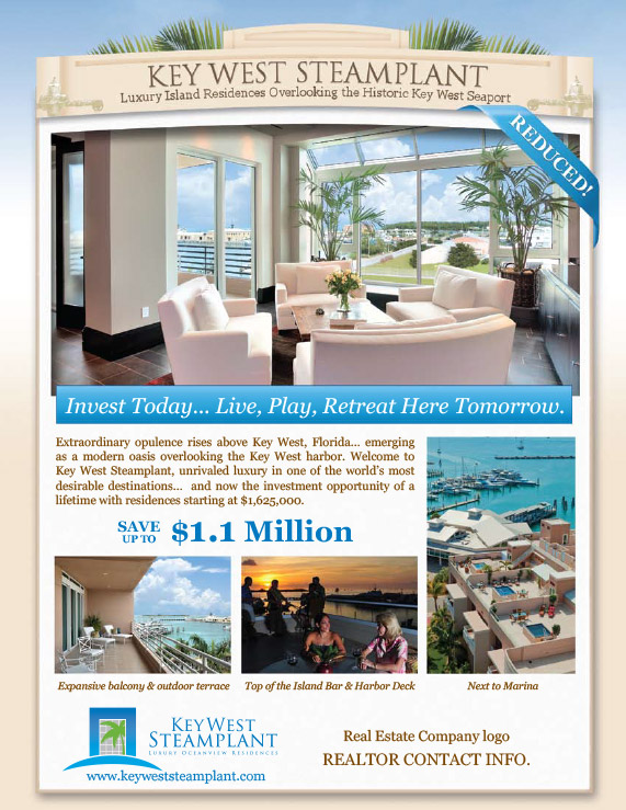 Key West Real Estate Marketing Flyers
