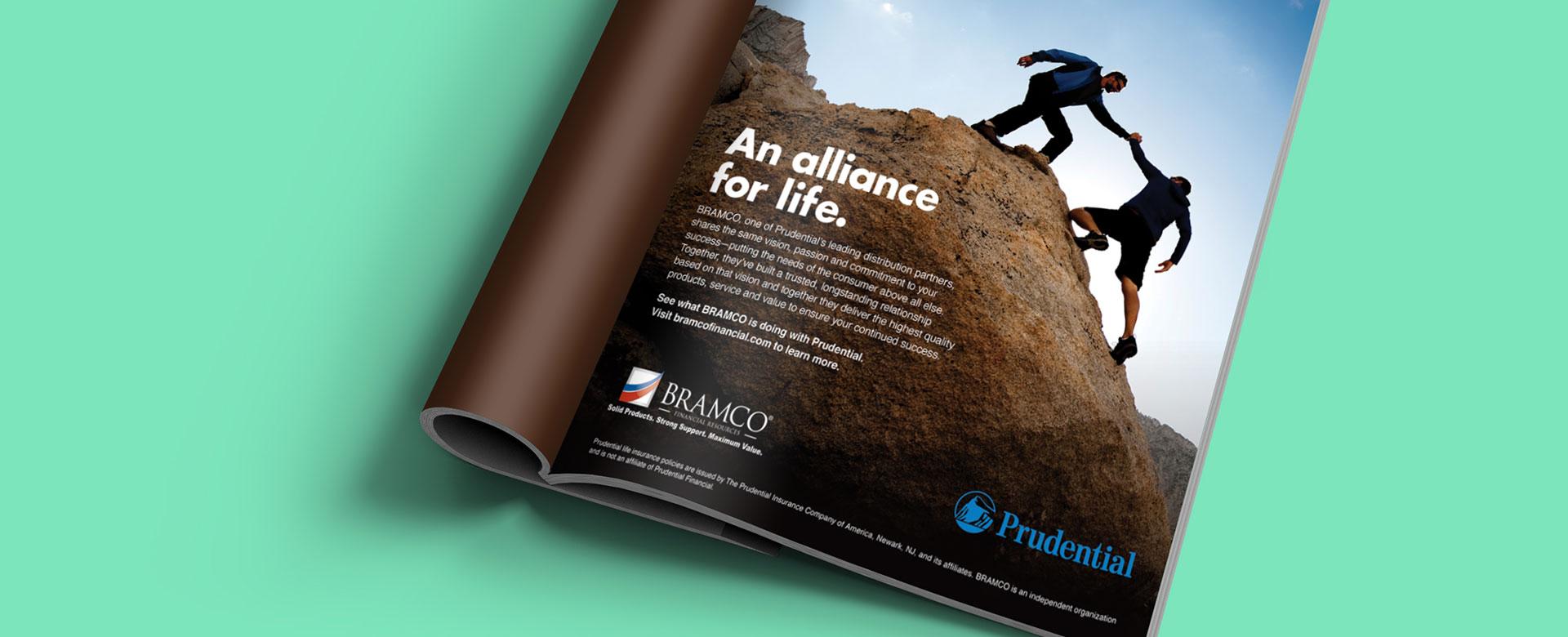 Bramco Prudential Co Miami Branded Magazine Print Ad