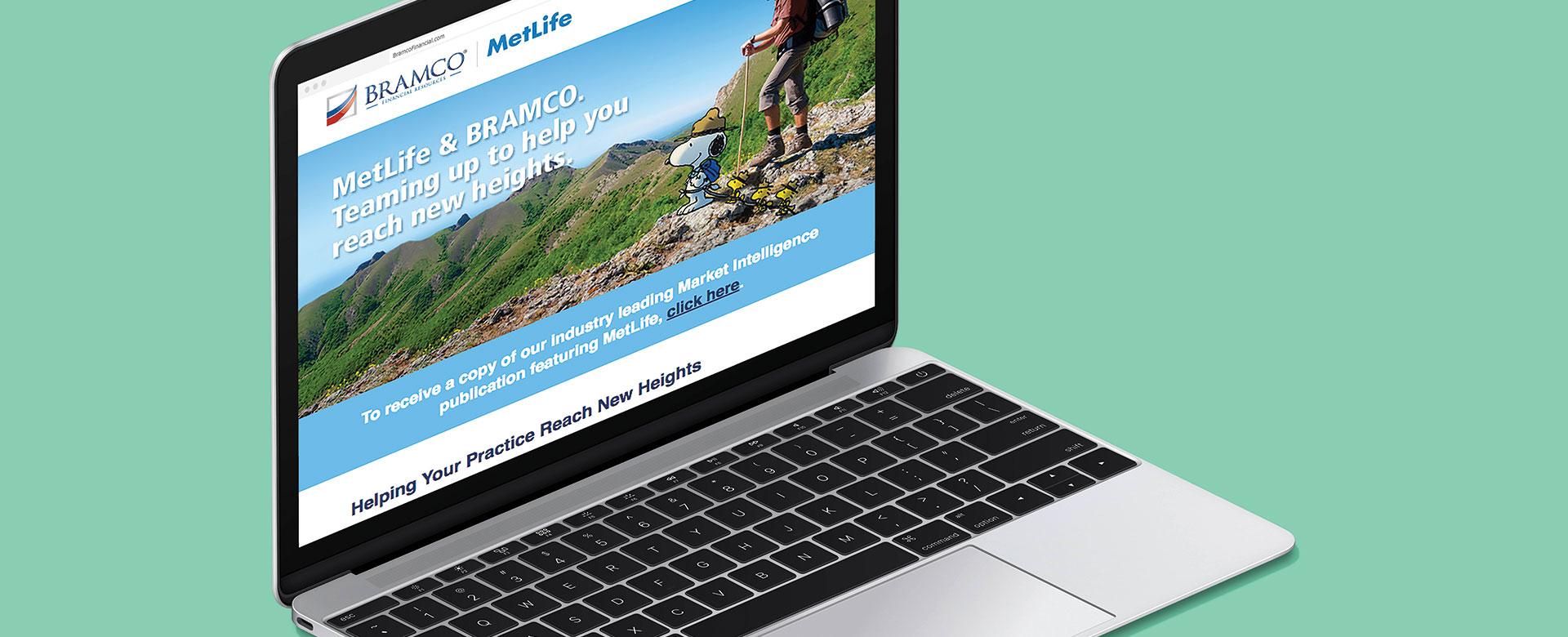 Bramco MetLife Co-Branded Miami Advertising Webpage