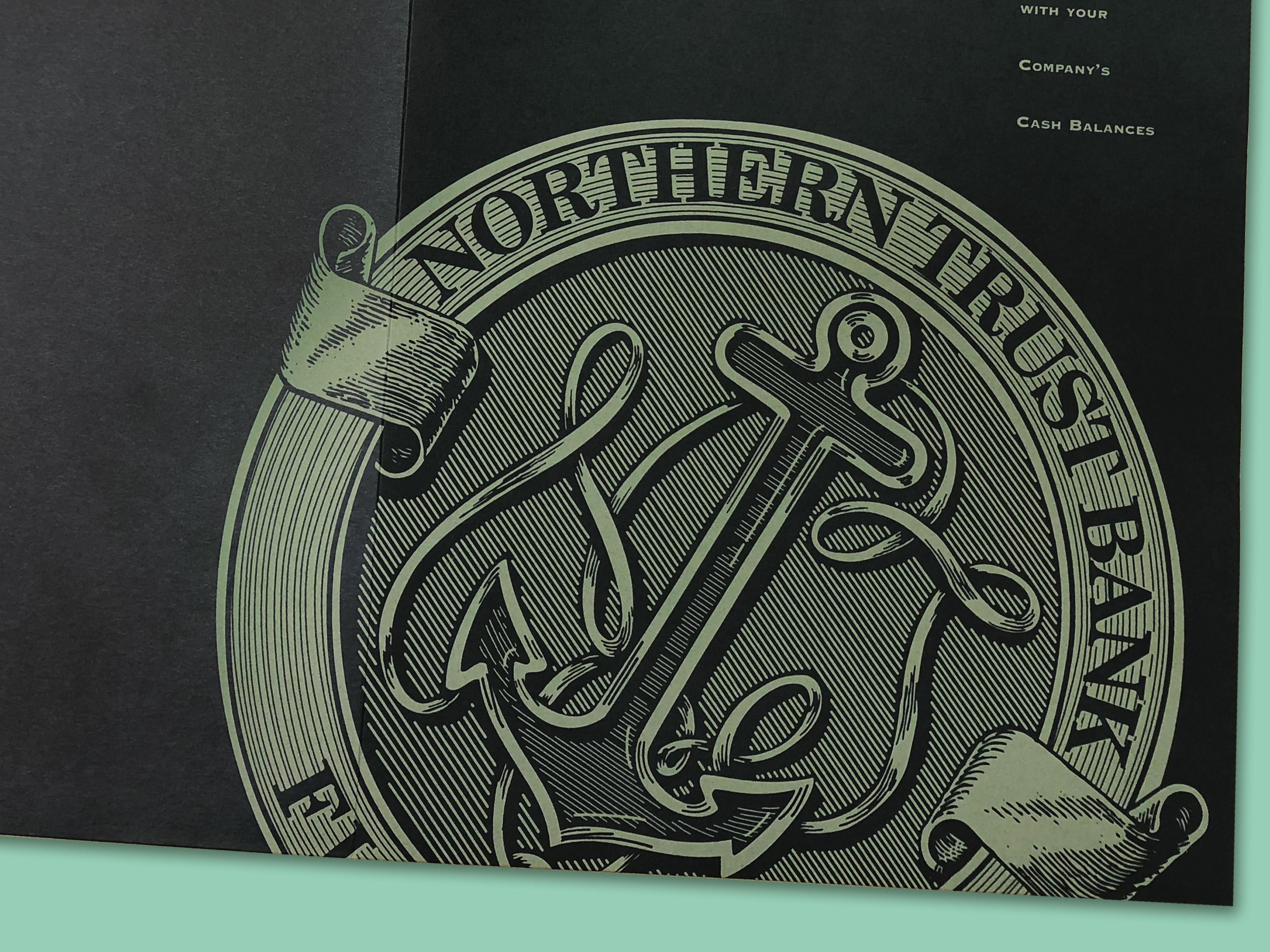 Northern Trust folder Miami Marketing Campaign