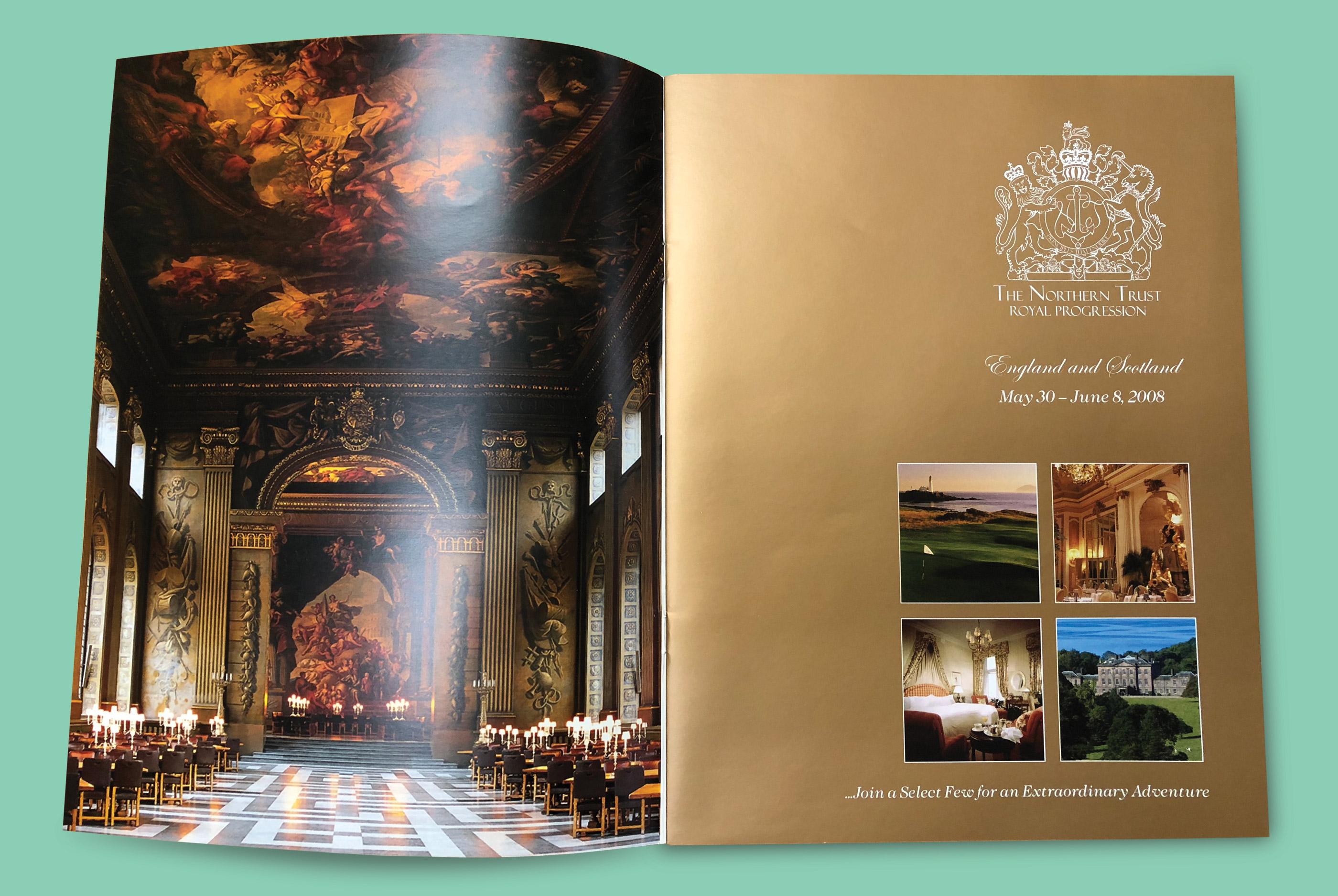 Royal Progression Brochure Miami Marketing Campaign