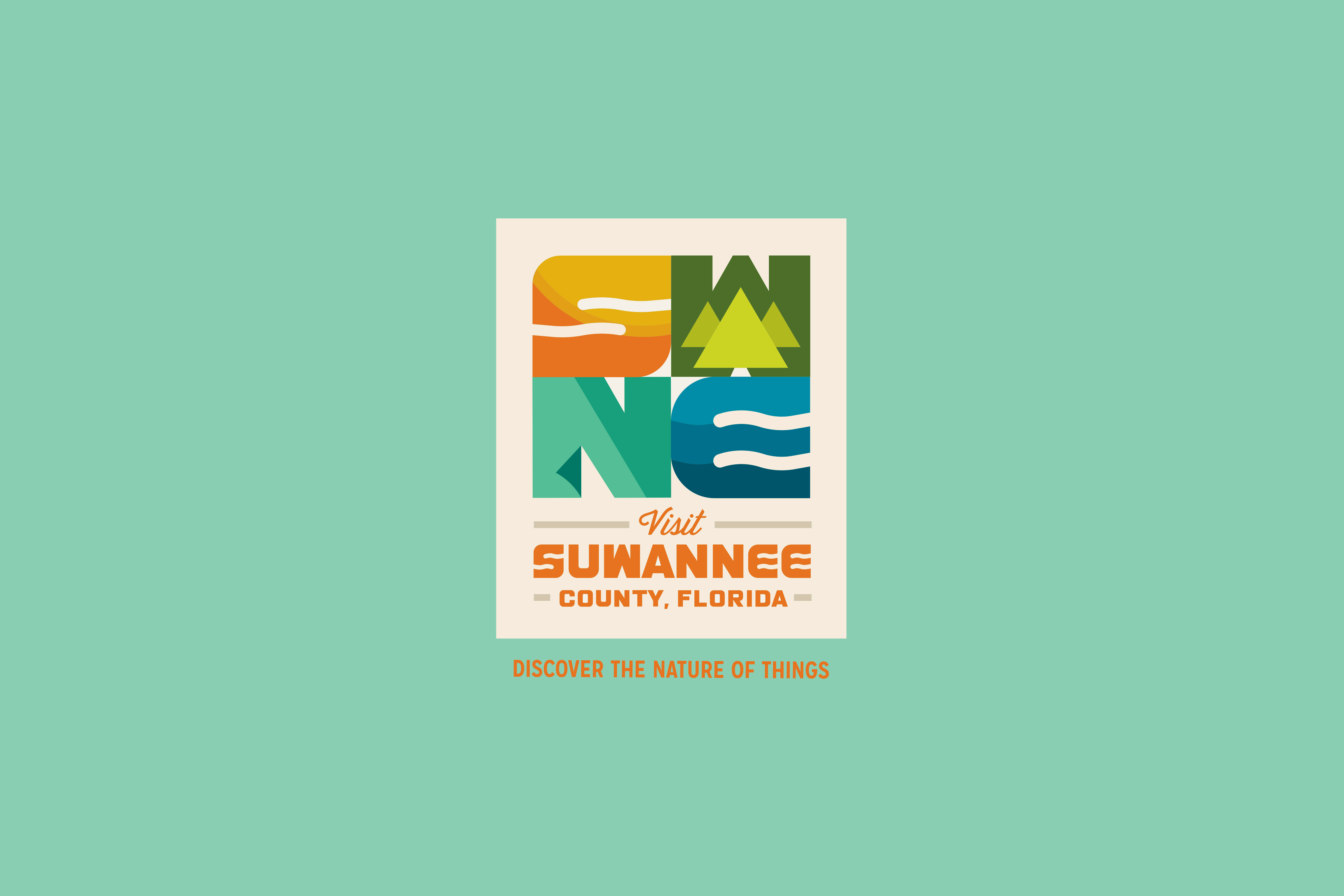 suwannee county logo stacked