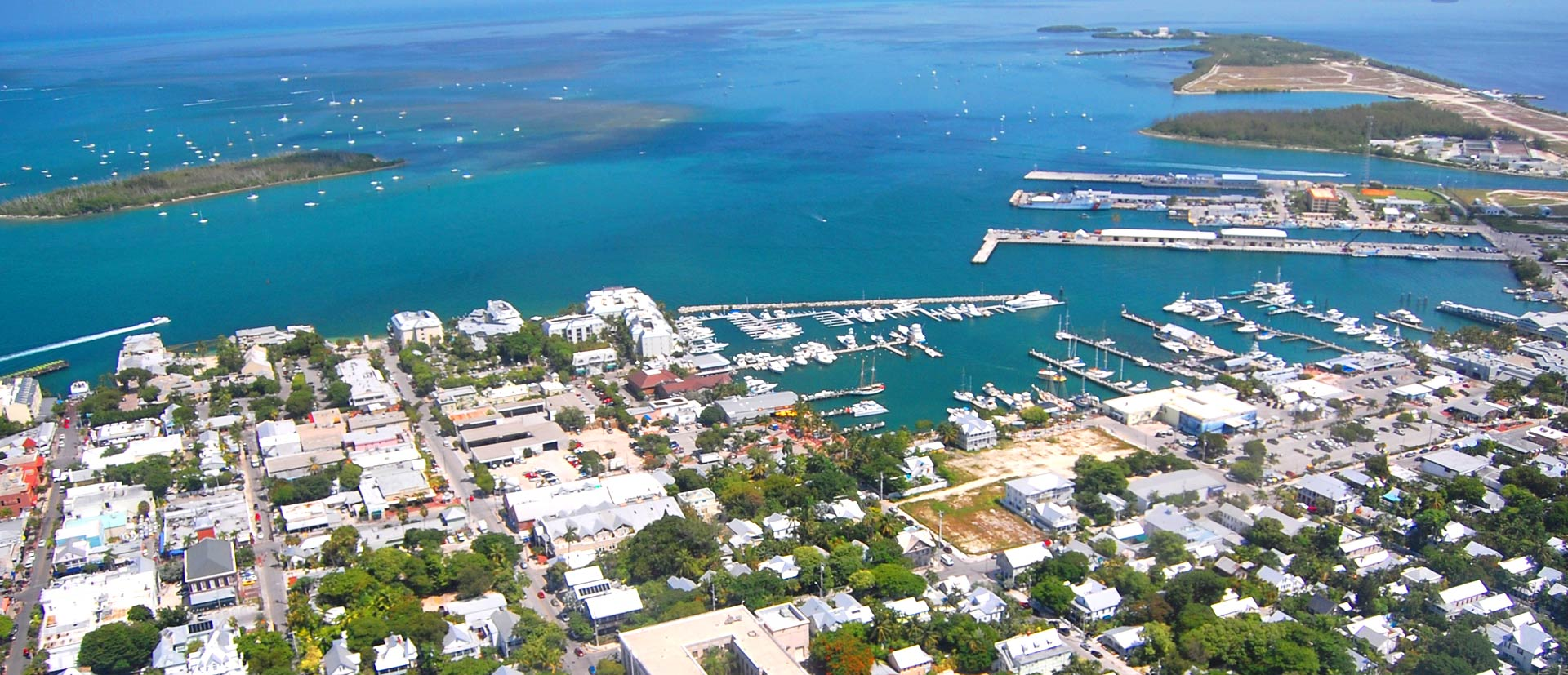 Aerial Photo of Key West During The Day