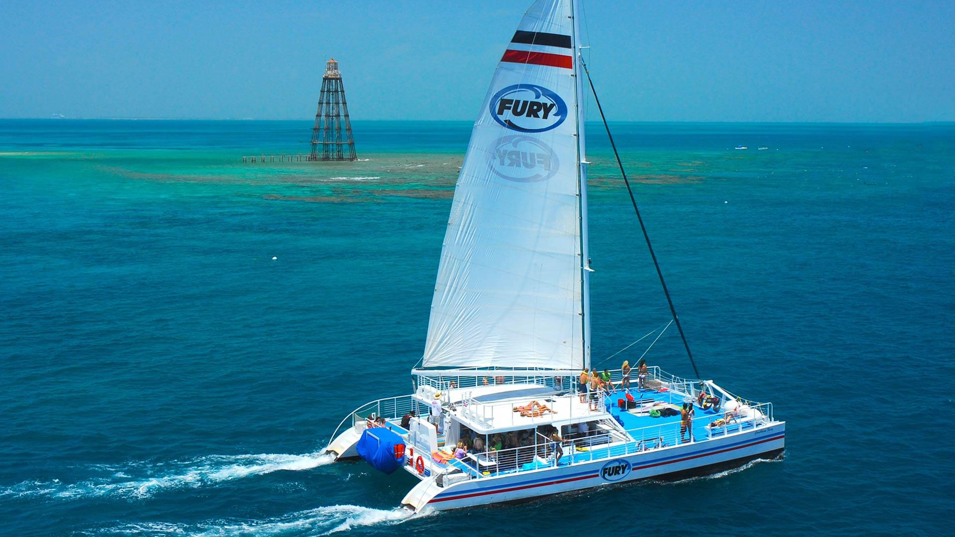 Fury Water Adventures Catamaran in Key West