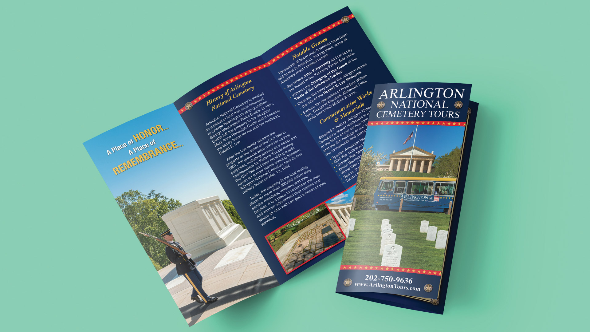 Arlington National Cemetery brochure