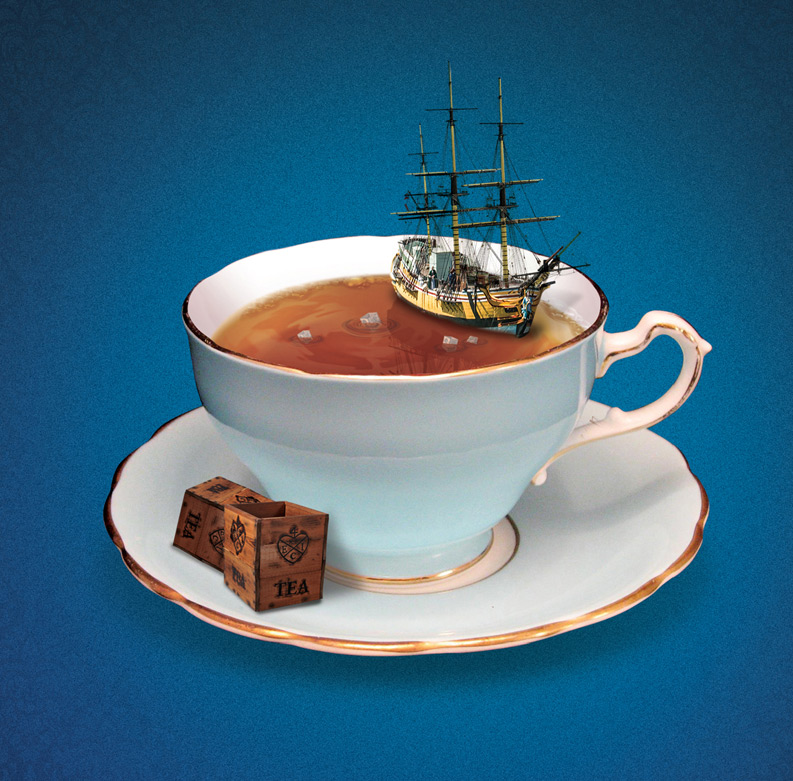 Boston Tea Party Ships and Museum Ad