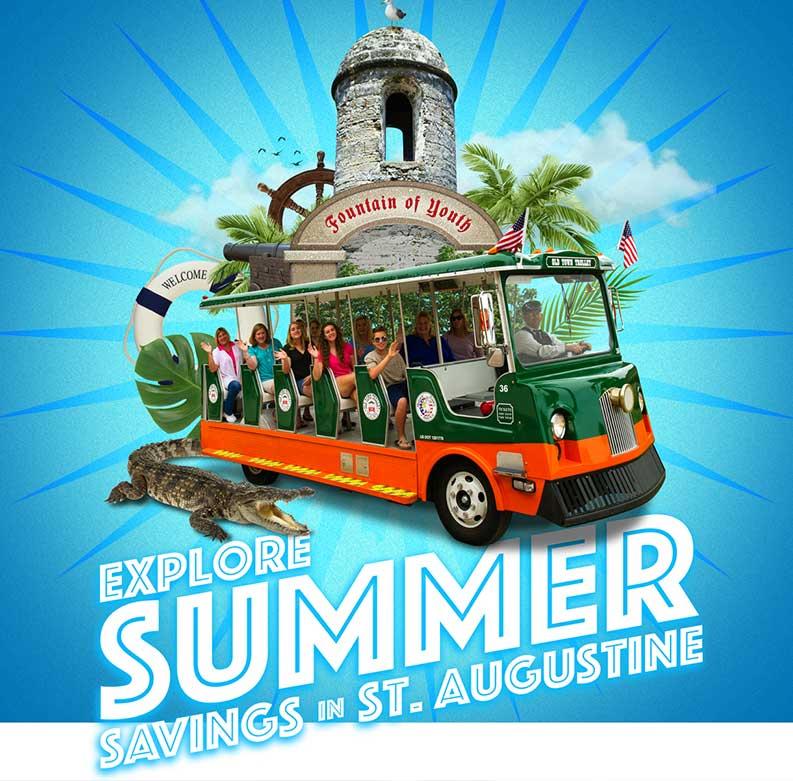 St Augustine Summer Savings
