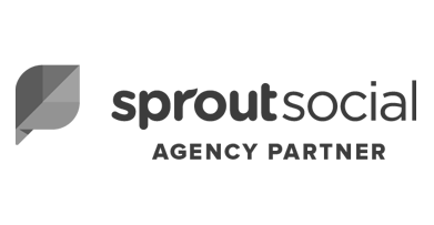 Sprout social certified agency partner badge