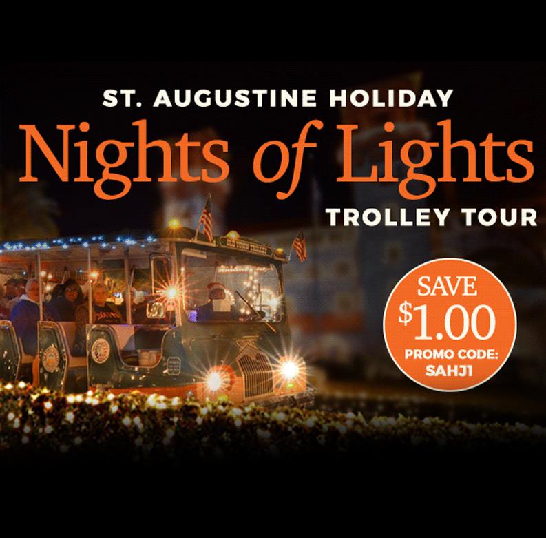 Nights of Lights St. Augustine