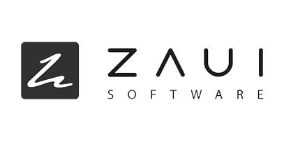 logo that reads ZAUI software