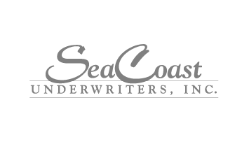logo that reads 'SeaCoast Underwriters, Inc' with the the letters 'S' and 'C' in 'SeaCoast' larger and the words 'Underwriters, Inc.' in between two lines and underneath the word 'SeaCoast'