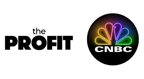 The Profit and CNBC logos