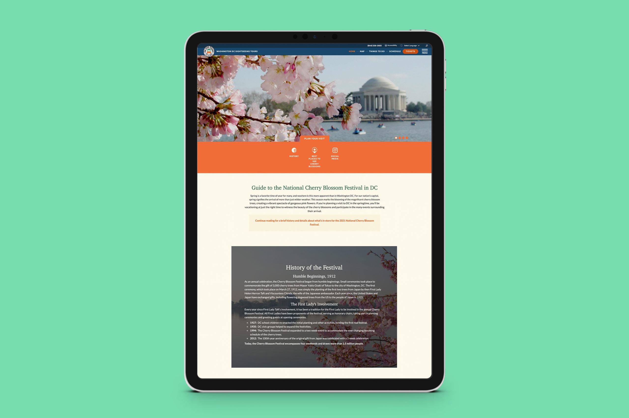 OTT WDC tablet mockup