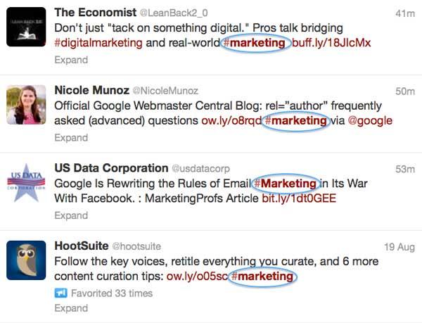 Photo of Marketing Hashtags